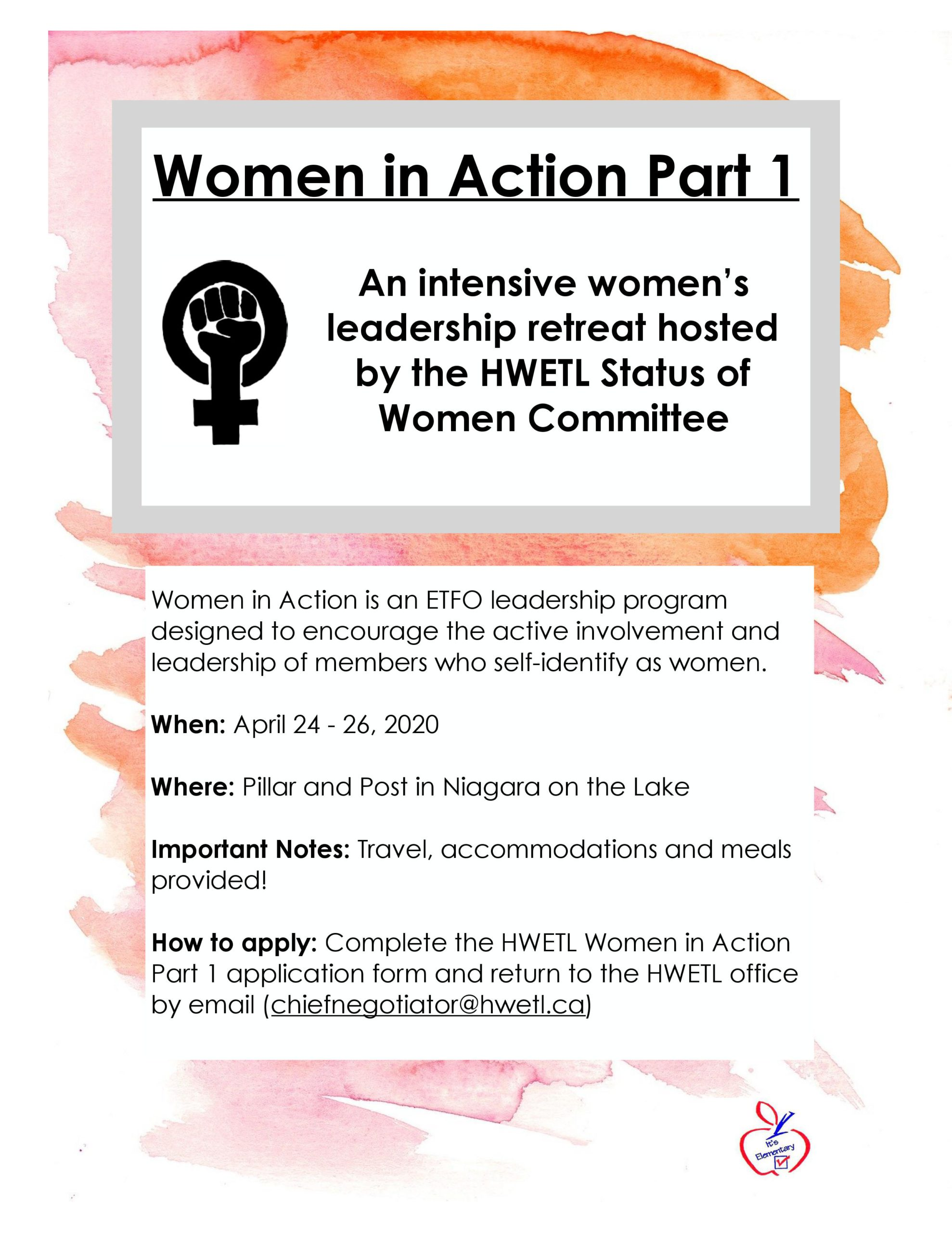 Women in Action Poster
